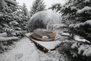 Kỳ nghỉ tuyệt vời tại 10 khách sạn bong bóng đẹp lung linh ở khắp nơi trên thế giới