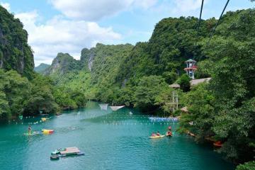 Kinh nghiệm đi Sông Chày, Hang Tối ở Quảng Bình 'vui quên đường về'