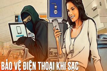 5 mẹo tránh bị hack điện thoại khi sạc pin ở sân bay