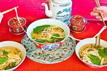 Mì trường thọ - món ăn đầu năm mới mang lại may mắn của người Trung Hoa
