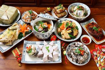 10 món ăn ngày Tết không thể thiếu trong mâm cơm gia đình