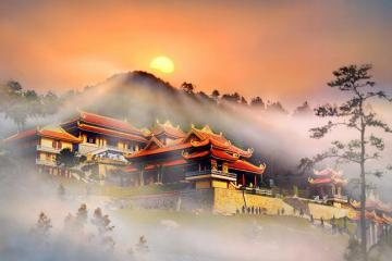 Lạc bước đến Thiền viện Trúc Lâm Tây Thiên - chốn thanh tịnh nép mình bên đỉnh Tam Đảo
