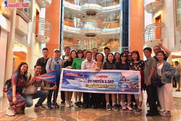 Tour du thuyền 5 sao giá chỉ từ 10,9 triệu đồng thỏa sức khám phá Đông Nam Á