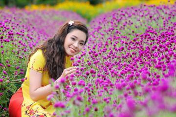 Vườn hoa Mãn Đình Hồng - điểm sống ảo 'quên lối về' ở Tiền Giang đã chính thức mở cửa