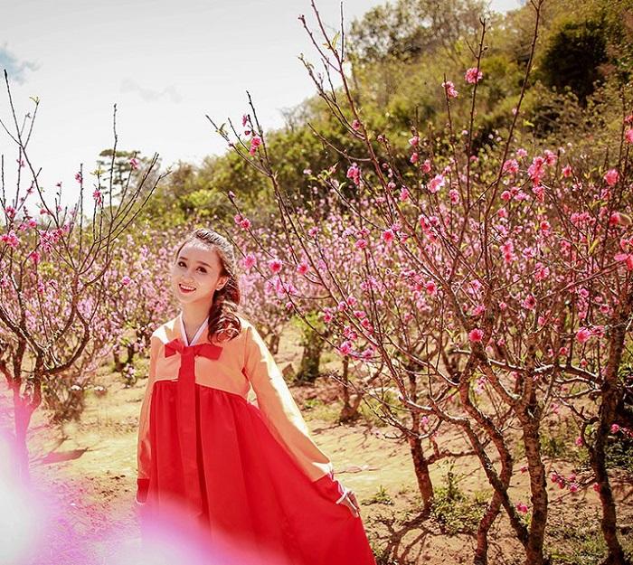 thung lũng hoa đào