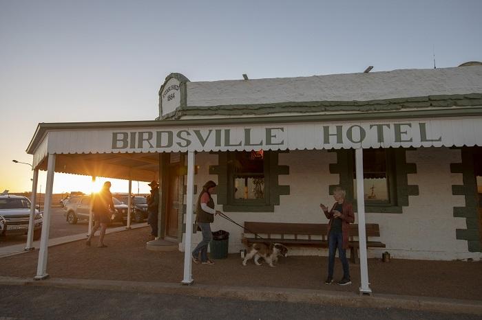 Thông thường, mỗi tuần khách sạn Birdsville chỉ có một cuộc gọi đặt phòng từ người đưa thư và 2 tuần ba lần đối với các bác sĩ đến khám bệnh