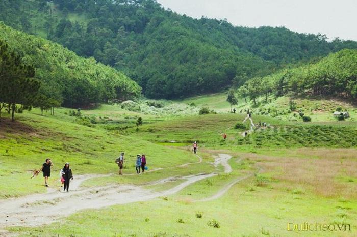 những cung đường trekking