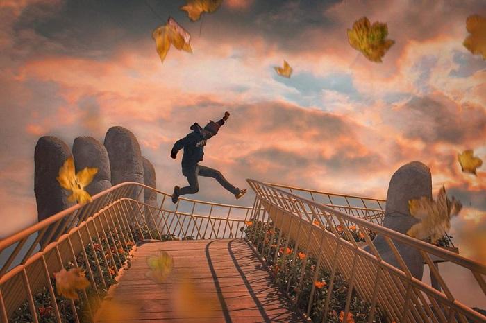 Cầu Vàng Đà Lạt - địa chỉ sống ảo dịp Valentine cho các cặp tình nhân