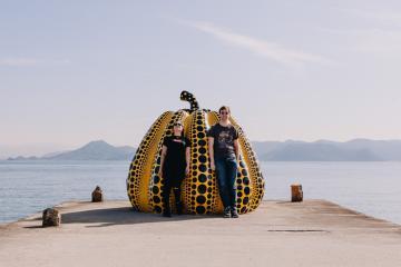 Đảo nghệ thuật Naoshima Nhật Bản: Kẻ bị lãng quên hồi sinh thành địa điểm du lịch độc đáo