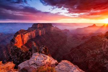Du hành về quá khứ với vườn quốc gia Grand Canyon nổi tiếng