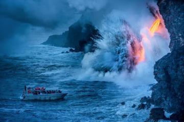 Công viên núi lửa ở Hawaii - điểm du lịch chưa bao giờ hết 'hot'