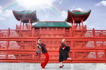 Lên hình đẹp lung linh với chùa Lầu - 'tiểu Nhật Bản' giữa lòng An Giang