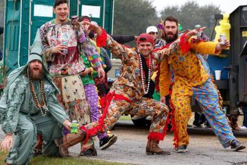 Tận hưởng lễ hội Mardi Grass độc đáo nhất nước Mỹ ở miền nam Louisiana