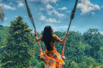 Chẳng cần đến Bali, Quảng Bình cũng có 'xích đu tử thần' ở Bong Lai Swing Nature Farm