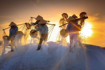 Thỏa mãn đam mê nhiếp ảnh tại 6 cánh đồng muối đẹp nhất Việt Nam