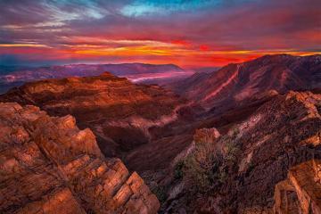 Du lịch Mỹ trải nghiệm ngắm hoàng hôn tại thung lũng chết Califonia có gì thú vị?