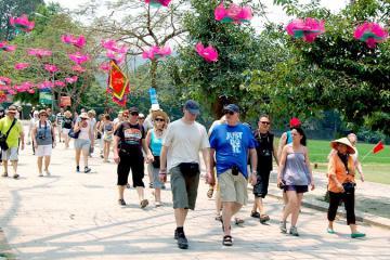 Ngành du lịch Hà Nội đón hơn 1,3 triệu lượt khách trong tháng 2/2020
