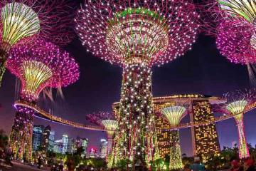 Du lịch Singapore là không thể bỏ qua 3 bữa tiệc trình diễn ánh sáng thịnh soạn này