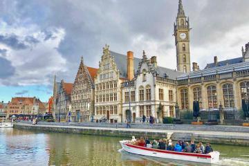 Đến Bỉ ghé thăm thành phố Ghent không khói bụi ô tô