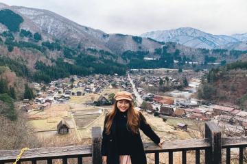 9x chia sẻ kinh nghiệm khám phá làng cổ Shirakawago trong chuyến du lịch Nhật Bản tự túc