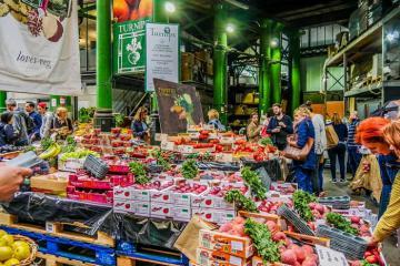 Có gì tại chợ Borough - khu ẩm thực lâu đời nhất nước Anh?