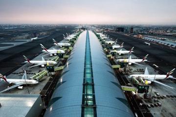 Sân bay Dubai đứng đầu thế giới về số lượng khách quốc tế