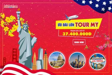 Tour du lịch Mỹ từ 37,4 triệu đồng, thỏa thích ngao du và khám phá xứ 'cờ hoa'