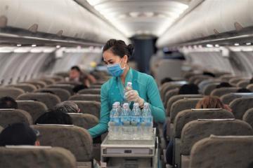 Vietnam Airlines thông báo giảm tần xuất khai thác, điều chỉnh một số tiêu chuẩn dịch trên các chuyến bay Việt - Hàn