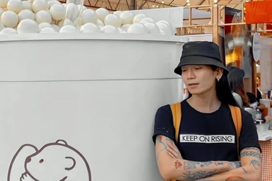 BB trần thực hiện tour trải nghiệm bánh ngọt hoành tráng khi du lịch Thái Lan