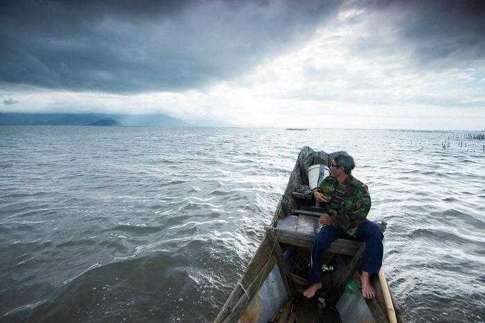 Cau Hai lagoon Hue