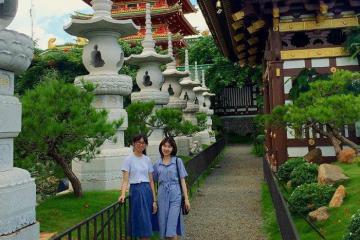Mục sở thị chùa Minh Thành - ngôi chùa độc lạ nhất Tây Nguyên