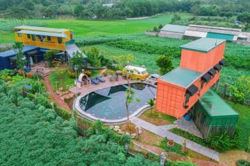 Colourful House Ba Vì 'thung lũng xanh' siêu đẹp, siêu chất gần Hà Nội