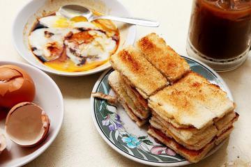 Bánh mì Kaya Toast của Singapore: hồn châu Á bọc trong lớp vỏ Tây phương