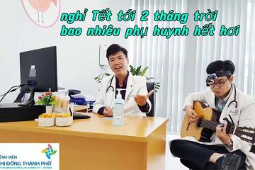 2 bác sĩ trẻ Bệnh viện Nhi đồng TP.HCM hát 'Ông Bà Anh' phiên bản thời dịch nCoV cực chất