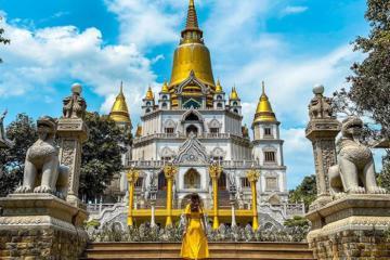 Check in chùa Bửu Long, Sài Gòn - top 10 ngôi chùa đẹp nhất thế giới