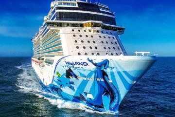 Trải nghiệm cảm giác mạnh trên siêu du thuyền Norwegian Bliss