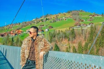Vũ Khắc Tiệp du lịch ở thiên đường Thụy Sĩ trong phim 'Hạ Cánh Nơi Anh'
