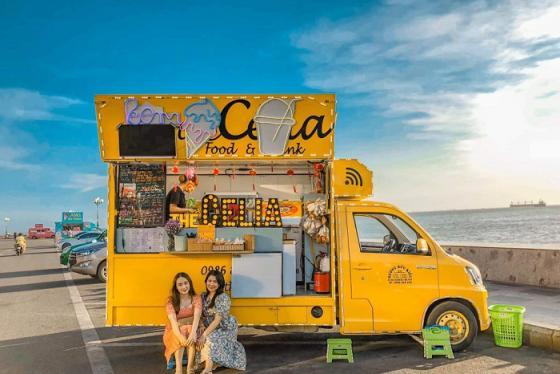 Đứng ngồi không yên với loạt xe bán kem lưu động cực chất ở Vũng Tàu