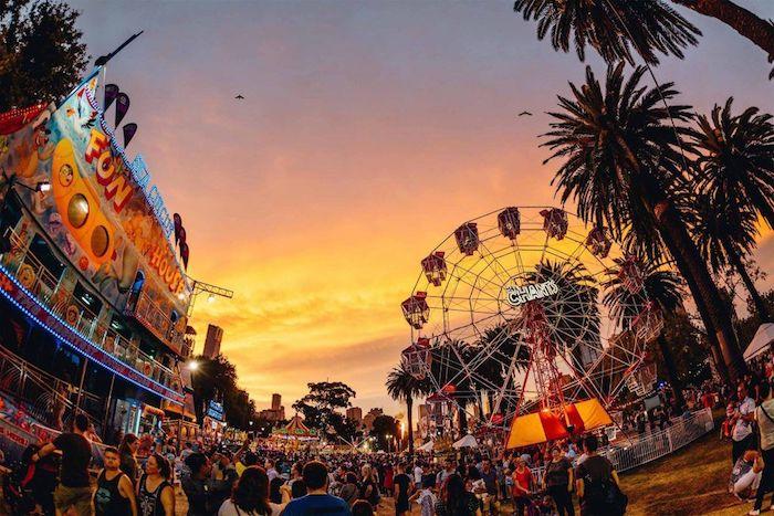 Moomba Waterfest, lễ hội truyền thống lớn nhất nước Úc.