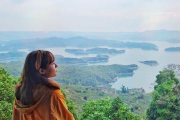 Review 15 trải nghiệm tuyệt vời ở Hồ Tà Đùng bởi 'hotgirl của nắng'
