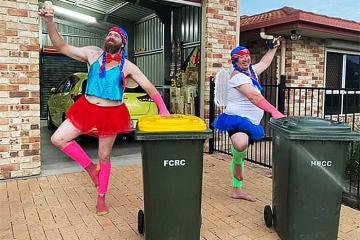 Ăn diện đi đổ rác - 'Trend' hài hước chỉ có trong mùa cách ly dịch Covid-19