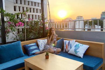 Quán cafe ở Sài Gòn được mệnh danh là 'Hawaii trên cao' đang hot rần rần