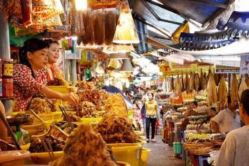Lạc bước vào chợ mắm Châu Đốc – thiên đường ẩm thực đặc sắc nhất An Giang