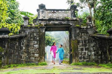 'Đẹp như tranh' làng cổ Lộc Yên Quảng Nam