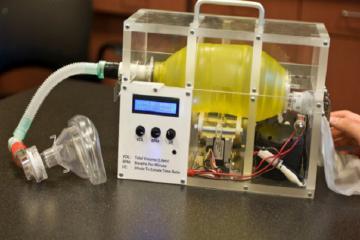 MIT phát hành bản thiết kế máy thở giá rẻ miễn phí phục vụ y tế trong đại dịch