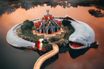 Top 6 ngôi đền, chùa có kiến trúc độc lạ nhất Châu Á