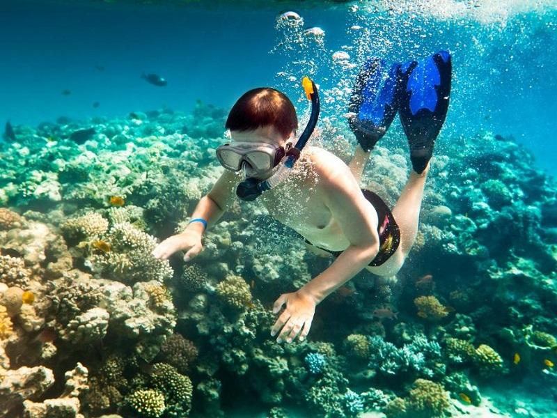 thoải mái ngắm đại dương với các thao tác thực hiện trước khi ngắm biển
