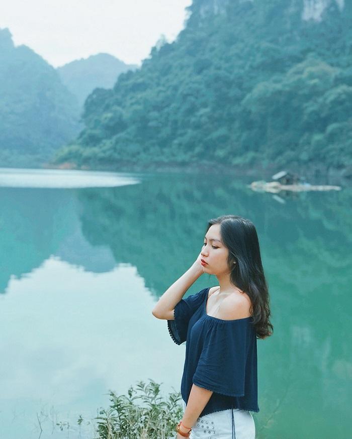 Hồ Thang Hen - điểm đến trên cung đường chinh phục đèo Mẻ Pia ở Cao Bằng