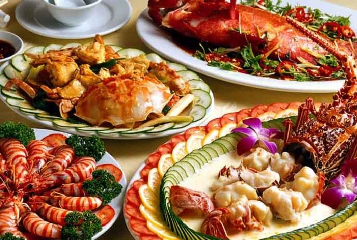 Cách chữa đầy bụng khi ăn hải sản