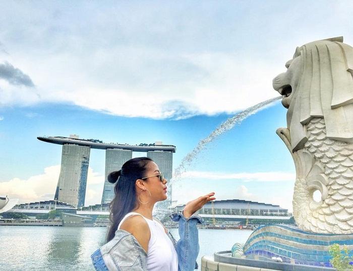 du khách Việt đến Singapore